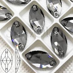 Стразы пришивные купить оптом Black Diamond, Navette
