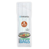 Пакет пластиковый биоразлагаемый, X (10-12л), 10 шт., артикул 118685, производитель - Brabantia