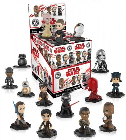 Фигурка Funko Mystery Minis Blind Box: Star Wars Episode VIII The Last Jedi (1 шт. в ассортименте)