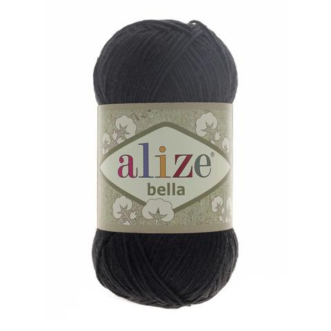 Пряжа Alize Bella 60 черный