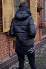 Куртка с холлофайбером с капюшоном купить