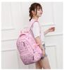 Рюкзак Ziranu 0916 Розовый + Пенал
