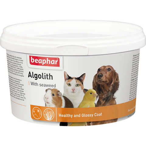 Кормовая добавка Algolith для кошек, собак и других домашних животных  250 г