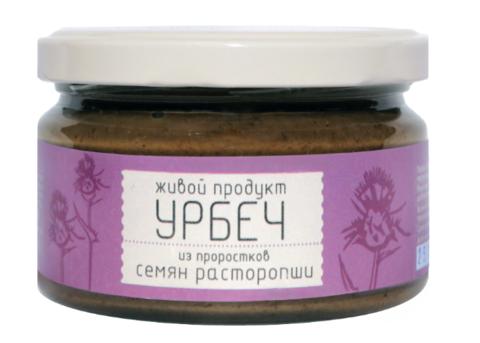 Урбеч из семян расторопши 225 гр. купить в Москве