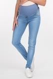 Джинсы для беременных (SKINNY) 09335 синий