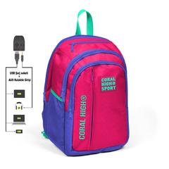 Çanta \ Сумка \ Bag CORAL HIGH SPORT SIRT ÇANTA(USB+AUX SOKETLİ) 23244