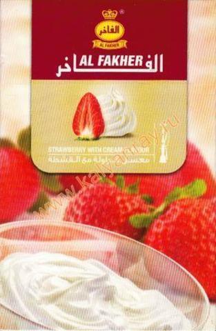 Al Fakher Клубника с кремом