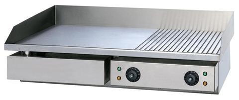 Жарочная поверхность VALEX HEG-822, ( 730х470х240 мм, 4,4 кВт, 220В ),  1/3 рифлёная.