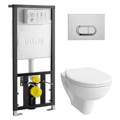 Купить комплект инсталляции c унитазом VitrA S20 в Краснодаре