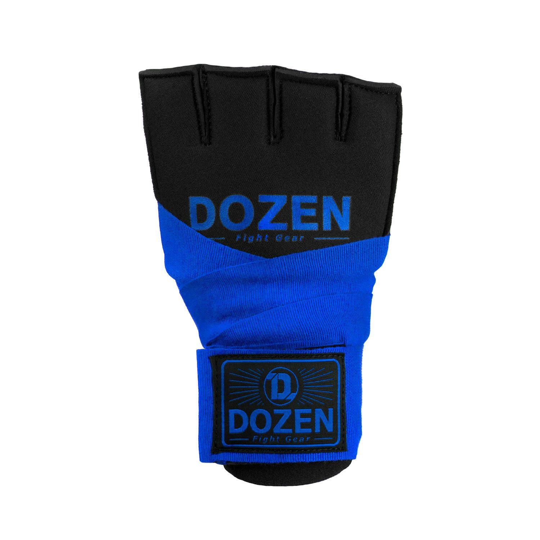 Быстрые бинты синие Dozen Prime Gel спереди