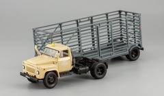 GAZ-52-06 semitrailer for carriage of packagings sand DIP 1:43