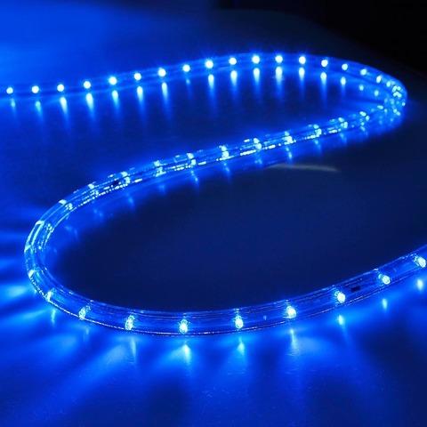 Придбати световой шланг дюралайт синий свет