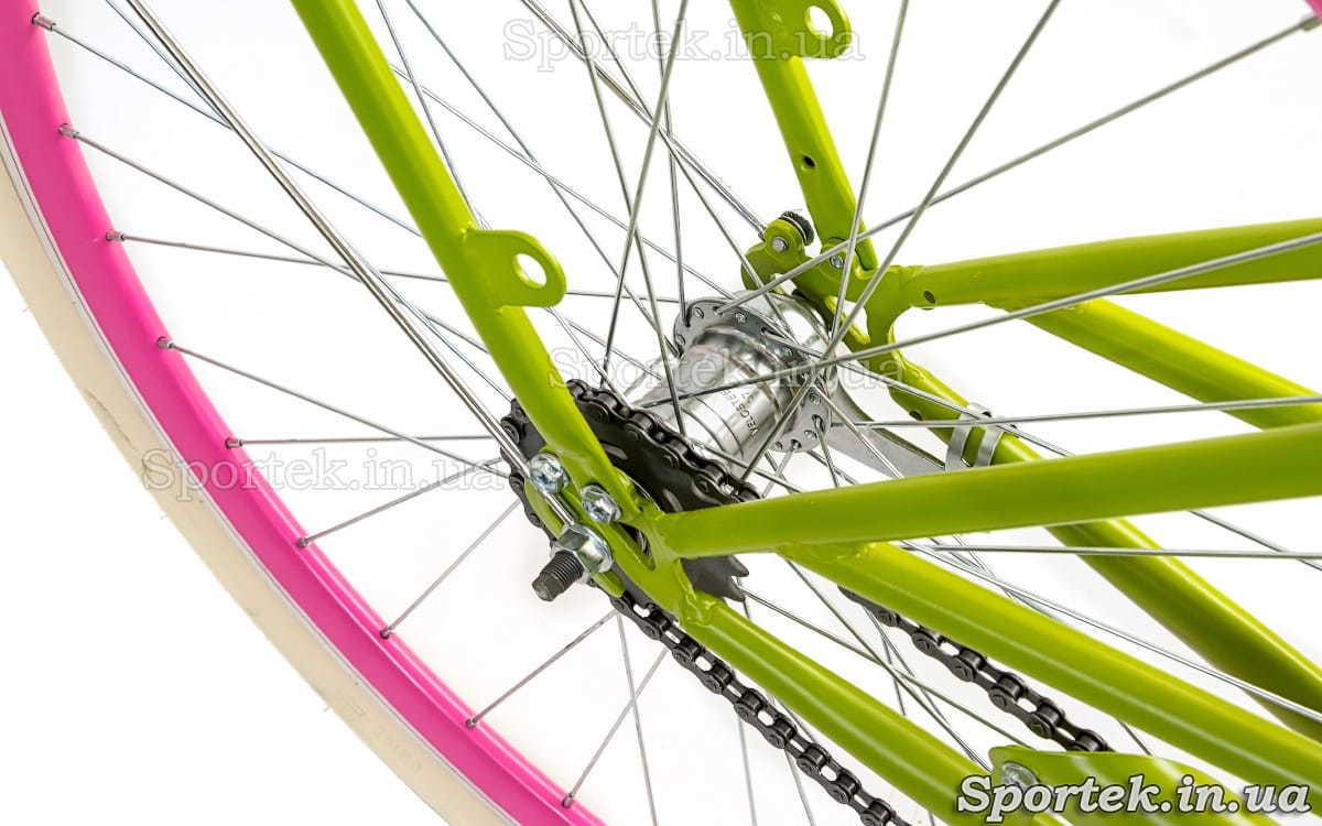 Втулка міського жіночого велосипеда Dorozhnik Comfort Female 2018