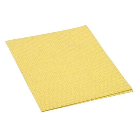 Салфетки хозяйственные Vileda Professional Универсальная вискоза/ПП 40x38 см желтые 10 штук в упаковке (арт. производителя 101032)
