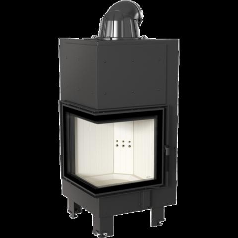 Каминная топка стальная Kratki MBN/L/BS/SG (гнутое стекло) (8 кВт)