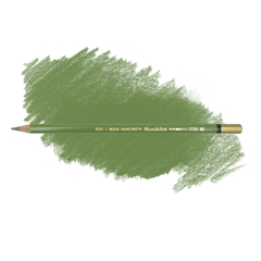 Карандаш художественный акварельный MONDELUZ, цвет 63 оливковый светлый