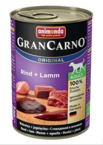 Консервы Animonda Gran Carno Original Adult с говядиной и ягненком для взрослых собак