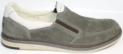 Туфли мужские кэжуал IKOC 3394-3 Gray.