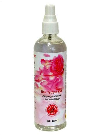 Розовая вода спрей 200 мл D2D