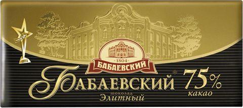 Шоколад Бабаевский элитный ФЕДОСОВ С.В.