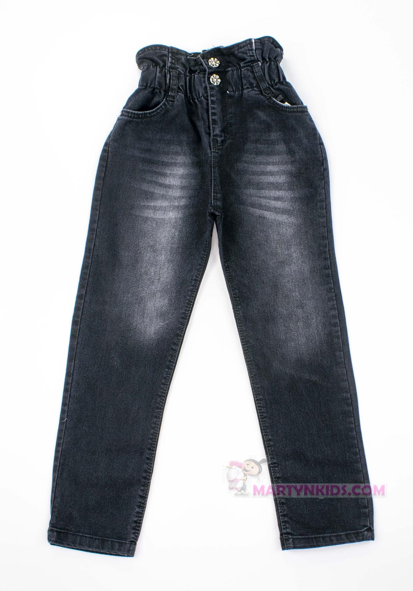 3387  джинсы Пояс пуговки стрейч