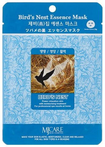 Mijin Essence Маска тканевая ласточкино гнездо 23 гр