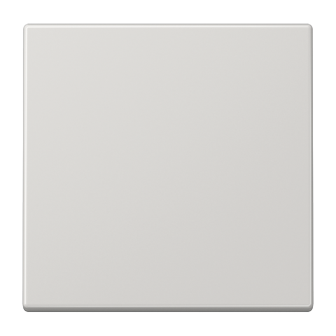 Выключатель одноклавишный. 10 A / 250 B ~. Цвет Светло серый. JUNG LS. 501U+LS990LG