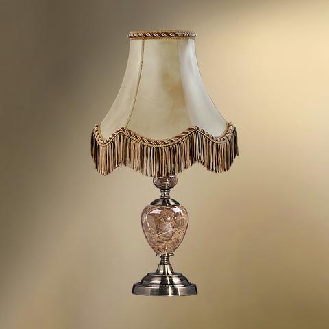 Настольная лампа с абажуром 24-20/8056 СТАРЫЙ АРБАТ