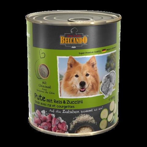 Belcando Консервы для собак с индейкой, рисом и цукини