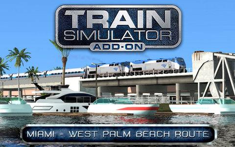 Train Simulator: Miami - West Palm Beach Route Add-On (для ПК, цифровой ключ)