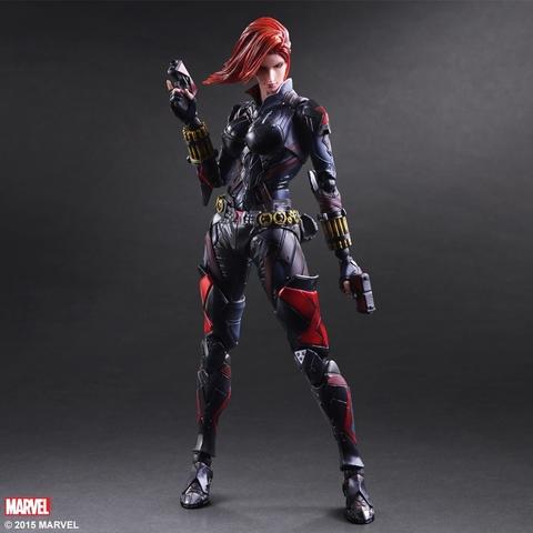 Марвел комикс фигурка Чёрная Вдова (копия) — Black Widow Marvel Comics Play Arts Kai (copy)