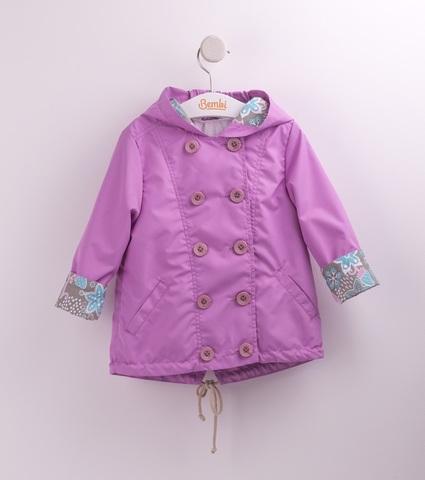 КТ153 Куртка для девочки (ветровка)