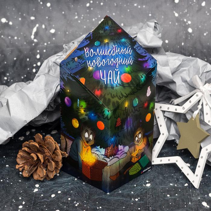 Купить новогодний подарочный чай с котиками от Bird Born Пермь