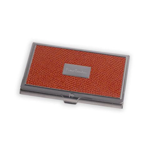 Визитница Pierre Cardin  (PC1139orange) оранжевая искуств.кожа + металл
