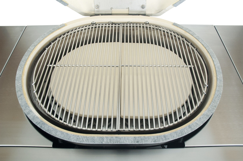 Газовый керамический гриль Primo Oval G 420, 4 горелки