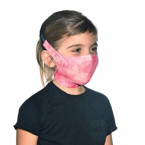 Маска защитная детская Buff Mask Nympha Pink фото 2
