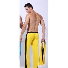 Штаны спортивные желтые Wang Jiang Shorts