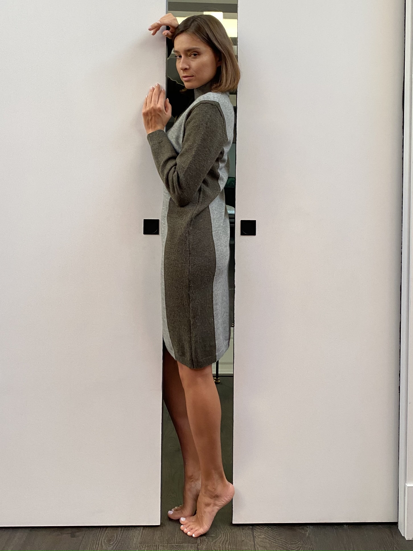 Платье, Ballerina, 8960 (серый)