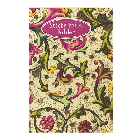 Sticky Notes Folder Yellow And Pink