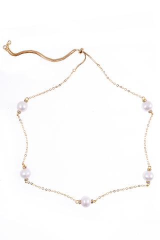 Ожерелье Aurora Rotondo золотистое