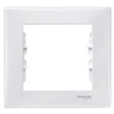 Рамка на 1 пост, IP44. Цвет белый. Schneider Electric Sedna. SDN5810121