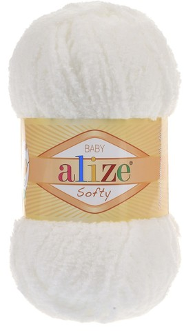 Пряжа Alize SOFTY 450 св.молочный