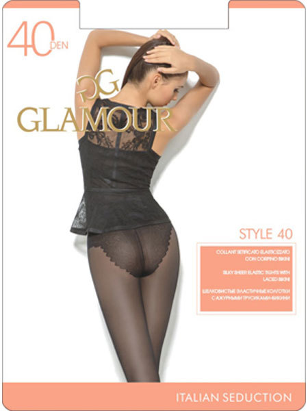 Колготки Glamour Style 40