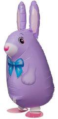 Ходячий шар Кролик сиреневый