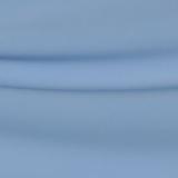 Креп полиэстеровый с эластаном бледно-василькового цвета