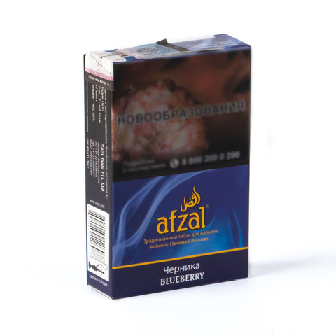 Табак Afzal Blueberry (Черника) 40 г