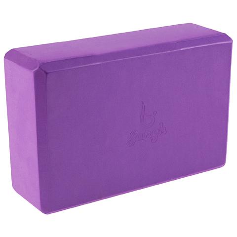Опорный блок для йоги Sangh Purple 23*15*8 см