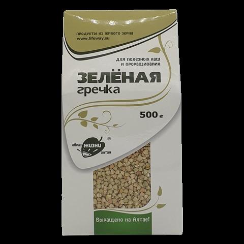 Гречка зелёная для каш и проращивания ОБРАЗ ЖИЗНИ, 500 гр