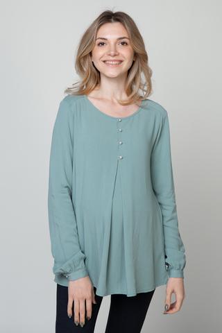 Блузка для беременных 11876 мята
