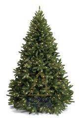 Ель искусственная Royal Christmas Washington Premium с огоньками - 210 см.